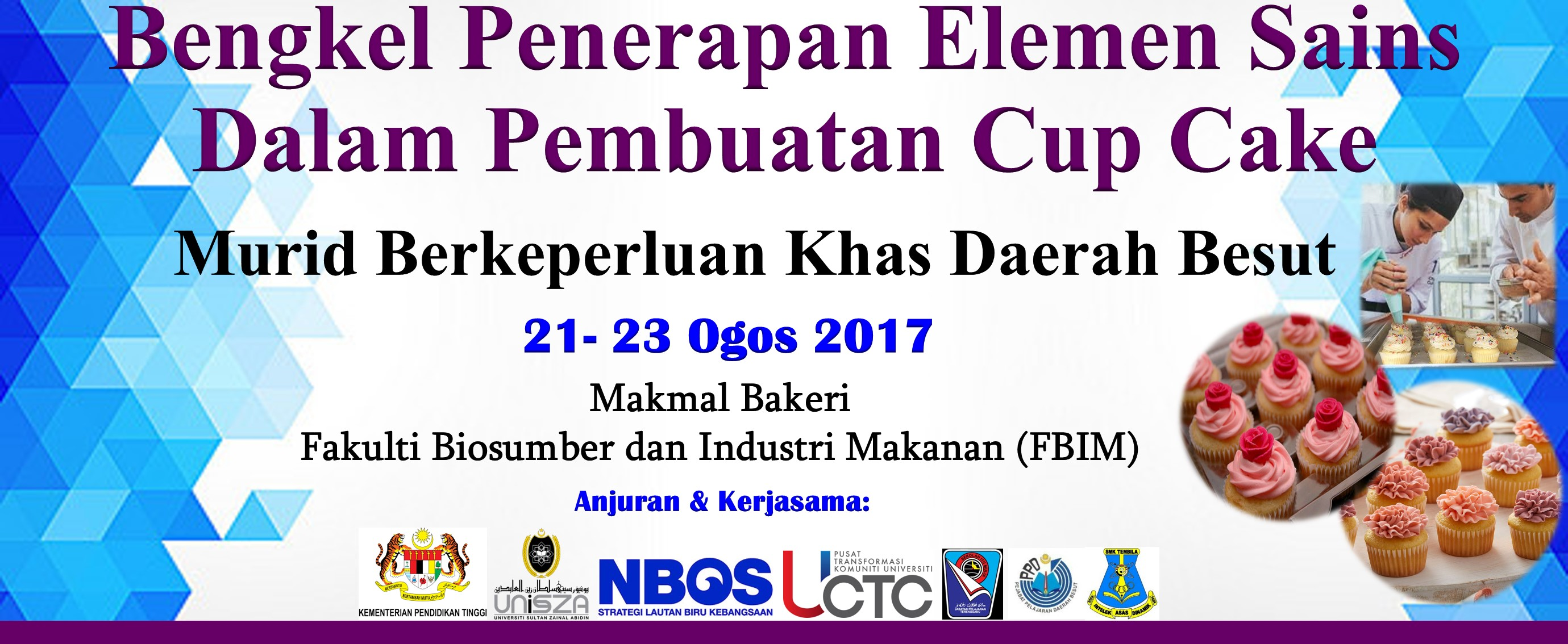 Banner Program Cup Cake latest